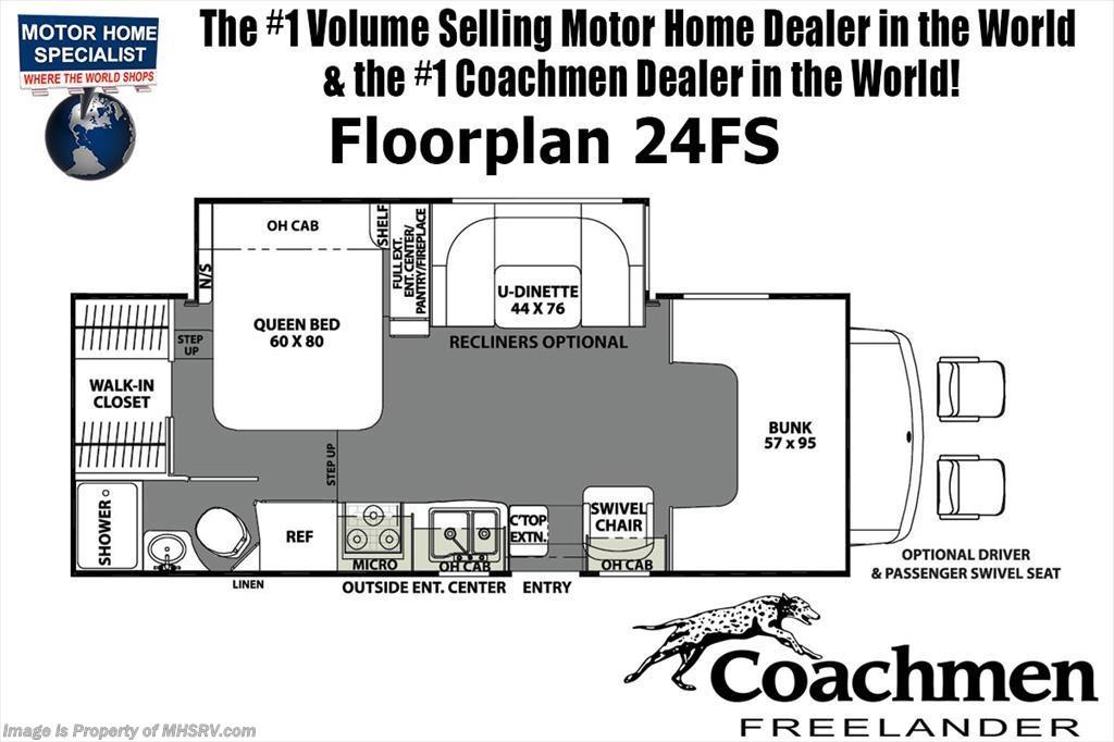 new 2019 coachmen freelander 24fsc rv for sale w 15k a c ext tv rh mhsrv com Furnace Thermostat Wiring Diagram Coleman Mach Thermostat Wiring Diagram