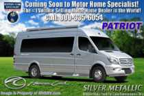 2019 American Coach Patriot SD FD2 Lounge Sprinter Diesel RV