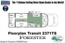 2019 Forest River Forester TS 2371D Transit Diesel RV for Sale at MHSRV.com