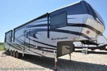 2019 Heartland  Road Warrior 413RW W/ 3 A/Cs, Ext TV, Arctic, Res Fridge