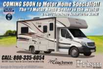 2019 Coachmen Prism 2250DS Sprinter Diesel RV W/ GPS, Ext TV, 3 Camera