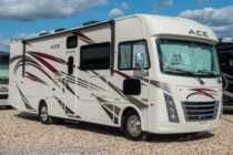 2019 Thor Motor Coach A.C.E. 30.2 Bunk House W/5.5KW Gen, 2 A/C, Ext TV