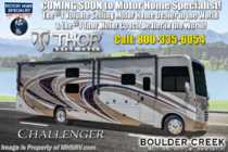 2019 Thor Motor Coach Challenger 37YT RV for Sale at MHSRV W/King Bed, Res Fridge