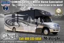 2019 Nexus Ghost 34DS Diesel Super C W/Ext TV, In-Motion Sat
