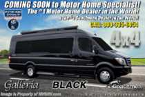 2019 Coachmen Galleria 24Q Sprinter Diesel 4x4 RV W/ Li3 Lithium Battery