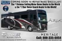2019 Thor Motor Coach Aria 3901 Bath & 1/2 RV for Sale W/360HP, W/D, King