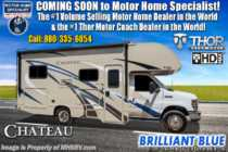 2019 Thor Motor Coach Chateau 22E RV for Sale at MHSRV W/ Stabilizers, 15K A/C