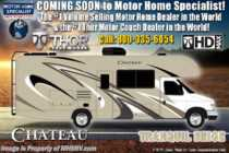 2019 Thor Motor Coach Chateau 31E Bunk Model RV for Sale W/Jacks, 15K A/C