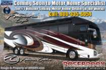 2019 American Coach American Eagle 45A Heritage Edition Luxury Bath & 1/2 W/360 Cam