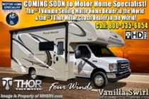 2019 Thor Motor Coach Four Winds 22E RV for Sale W/ Stabilizers, 15K A/C, Ext TV