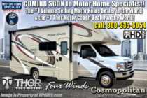 2019 Thor Motor Coach Four Winds 22E RV for Sale W/Stabilizers, 15K A/C, Ext TV