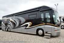 2013 Entegra Coach Cornerstone 45RBQ Bath & 1/2 W/ King, Res Fridge, Aqua Hot