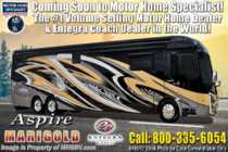 2019 Entegra Coach Aspire 44B Bath & 1/2 Luxury RV W/King, Aqua Hot, Solar