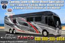 2019 Entegra Coach Anthem 44B Bath & 1/2 Luxury RV W/ Solar & Ext. Freezer