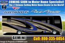 2019 Fleetwood Pace Arrow 36U Bath & 1/2 RV W/ Theater Seats, Tech Pkg