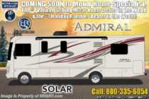 2019 Holiday Rambler Admiral 28A RV W/ Theater Seats, King & Res Fridge