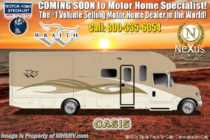 2019 Nexus Wraith 35W Super C Bunk Model RV for Sale W/King, Ext TV,