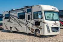 2019 Thor Motor Coach A.C.E. 30.4 W/5.5KW Gen, 2 A/Cs, Ext TV & Loft Bed