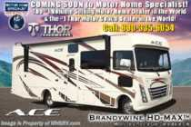 2019 Thor Motor Coach A.C.E. 30.4 ACE W/5.5KW Gen, 2 A/C, Ext TV, Loft Bed