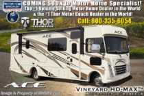 2019 Thor Motor Coach A.C.E. 30.3 ACE W/5.5KW Gen, 2 A/Cs, Ext TV, Loft Bed