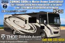 2019 Thor Motor Coach Windsport 34R RV for Sale W/ Theater Seats, King & Res Fridg