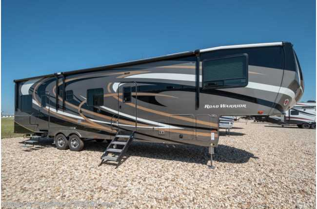2019 Heartland RV Road Warrior 387RW Bath & 1/2 W/ Ext TV, 3 A/Cs, Dual Pane