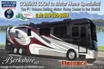 2019 Forest River Berkshire XLT 45A 2 Full Bath Bunk Model W/ Sat, OH Loft, W/D