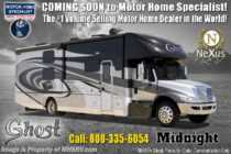 2019 Nexus Ghost 34DS Diesel Super C W/Sat, Ext TV & Solar