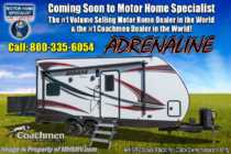 2019 Coachmen Adrenaline 19CB Toy Hauler W/ Pwr Bed & 4KW Gen