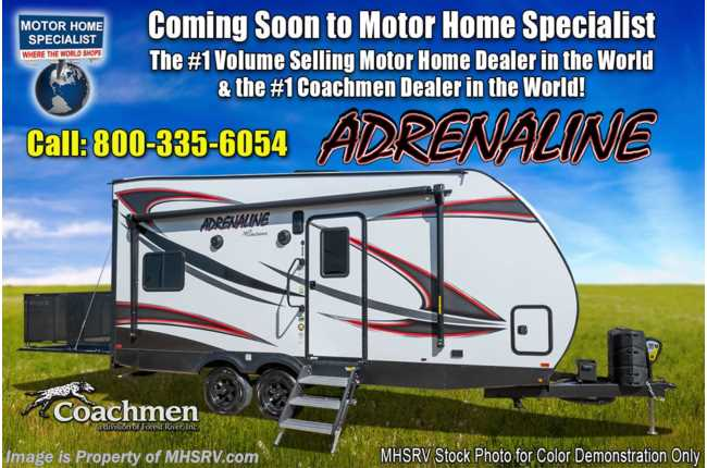 New 2019 Coachmen Adrenaline