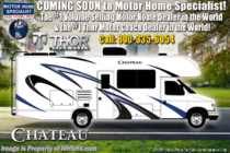 2019 Thor Motor Coach Chateau 23U Class C RV for Sale W/ Ext TV, OH Loft