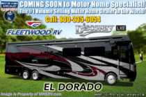 2019 Fleetwood Discovery LXE 44B Bath & 1/2 Bunk Model Diesel Pusher for Sale