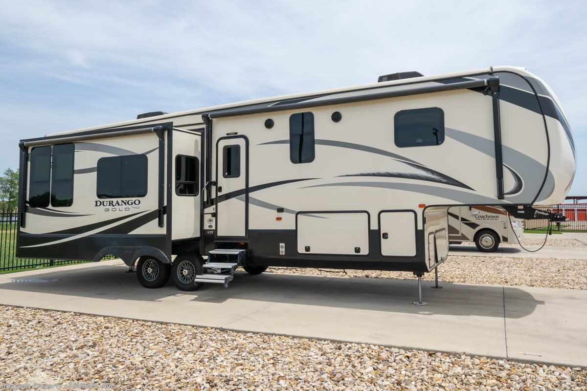 Used Kz Rv Fifth Wheels For Sale Texas >> 2017 K Z Rv Durango 353rkt 5th Wheel Rv For Sale W Jacks For Sale