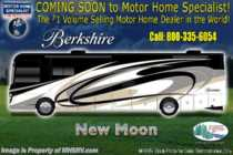 2019 Forest River Berkshire 39A Bath & 1/2 Diesel RV W/ Theater Seats & Sat
