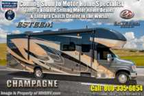 2019 Entegra Coach Esteem 30X W/2 Year Warranty, Fiberglass Roof & 2 A/C