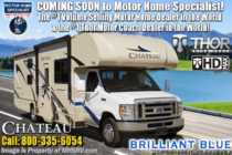 2019 Thor Motor Coach Chateau 28E RV for Sale W/ Stabilizers, Ext TV, 15K A/C
