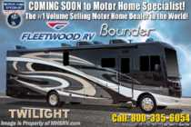 2019 Fleetwood Bounder 35K Bath & 1/2 Class A RV W/Tech Pkg, King