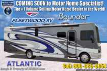 2019 Fleetwood Bounder 36F 2 Full Baths, Bunk Model W/OH Loft