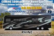2019 Fleetwood Discovery LXE 44B Bath & 1/2 Bunk Model W/Tech Pkg, Slide-out Tr
