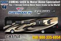 2019 Fleetwood Discovery LXE 40D Bath & 1/2 RV W/Sofa Bed & Tech Package
