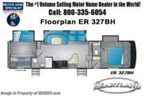 2019 Heartland  ElkRidge Focus 327BH Bath & 1/2 Bunk Model RV W/ 2 A/Cs