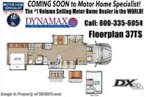 2019 Dynamax Corp DX3 37TS Super C W/Solar, Theater Seats, Cab Over