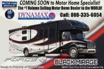 2019 Dynamax Corp Force HD 34KD Super C Diesel RV W/ Dash Cam DVR, Solar