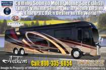2019 Entegra Coach Anthem 44F Bath & 1/2 Luxury RV W/Theater Seats & Solar