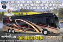 2019 Entegra Coach Anthem 44F Bath & 1/2 Luxury RV W/Theater Seats, 450HP