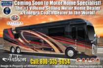 2019 Entegra Coach Anthem 44F Bath & 1/2 Luxury RV W/Theater Seats & 450HP