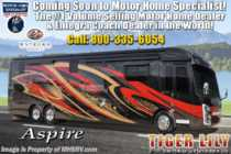 2019 Entegra Coach Aspire 44R Bath & 1/2 RV W/ Bunks & Upgraded Interior