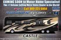 2019 Fleetwood Discovery LXE 44H Bath & 1/2 W/Tech Pkg, 450HP, Aqua Hot & King