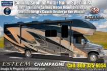 2019 Entegra Coach Esteem 29V W/2 Yr Warranty, Fiberglass Roof, 2 A/Cs