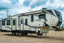 2019 Heartland  ElkRidge Focus 360MB Bunk Model RV W/2 A/Cs & Sofa Recliner